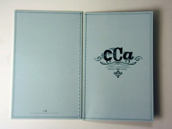 CCA Gala Fashion Show Catalog